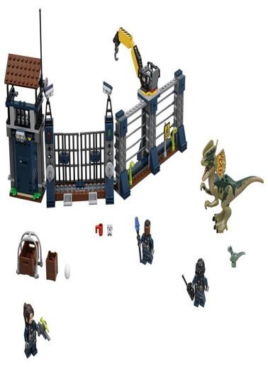 Lego LEGO Jurassic World Dilophosaurus Attack Renkli